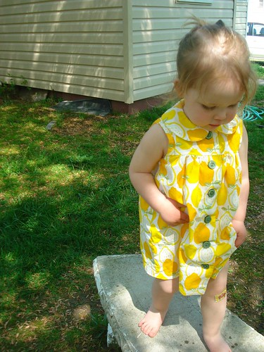 Lemonade Dress - bandaid