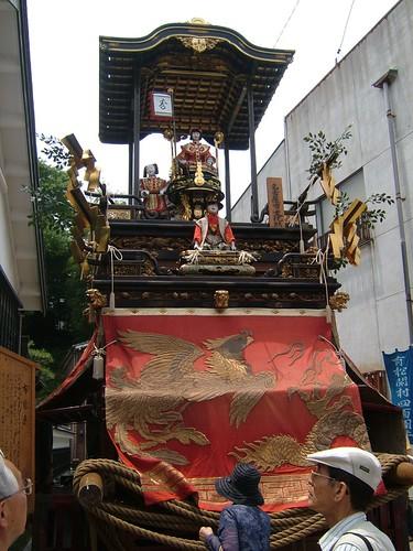 Arimatsu Shibori Festival shrine