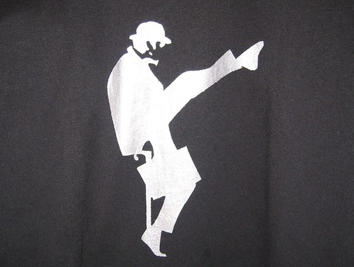 Ministry of Silly Walks Stenciled Tee