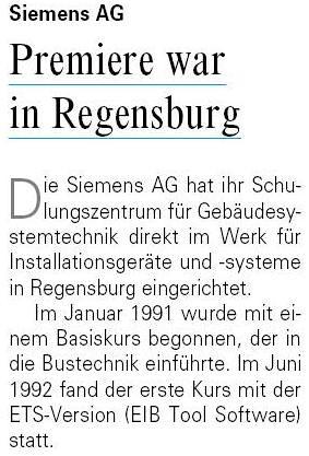 EIB-Schulung 1991