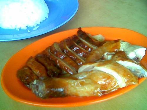 Roast meats @ Mei Le Cafe, Sibu