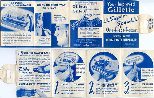 shaving razor instructions