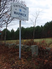 Warwick town line