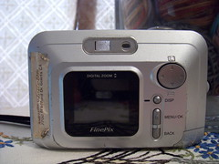 My oldest digital camera~ back