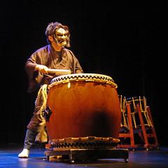 Yoji Ueki (ensemble Koma) au musée Guimet