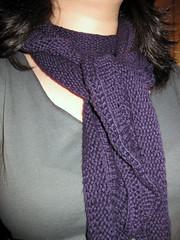 Just enough ruffles scarf