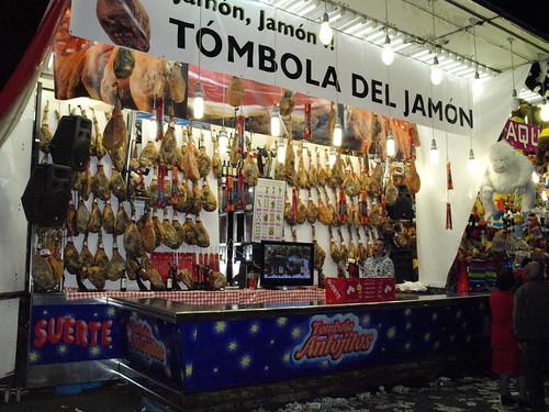 Fairground stall - Spanish style