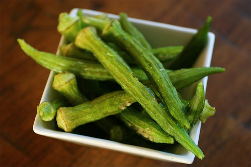 Fresh Market Okra Chips