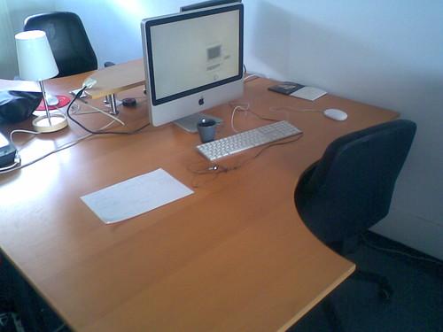 Nieuwe werkplek @ Statik