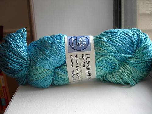 Blue Moon Fiber Arts luscious silk
