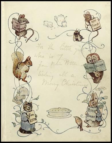 Algunas de sus ilustraciones y textos