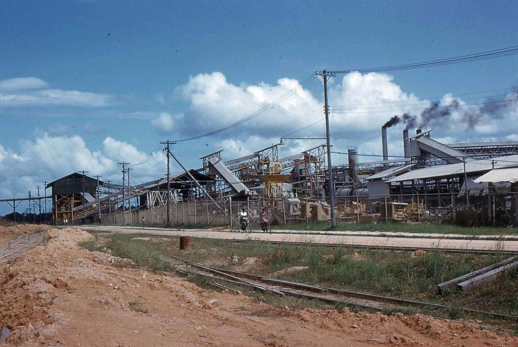 Bauxite Plant, MacKenzie, Guyana