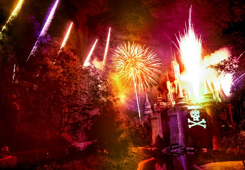 The Fireworks Explosion at Disney During the Pirates and Princesses Party - Stuck in Customs