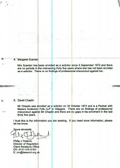 Law Society of Scotland to Scottish Government re SLCC applicants Page 2