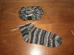 Fabel Zen Socks - Sock #1 Leg
