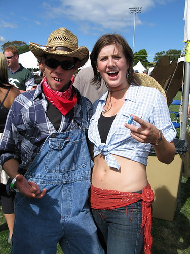 Hugos Ben Schottle and friend having fun at the GCBF.