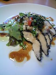 とり胸肉と季節野菜のサラダ@sola's kitchen
