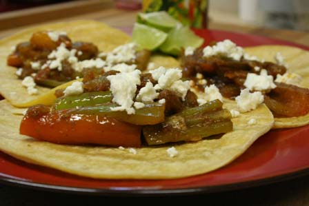 Saucy Pepper Tacos