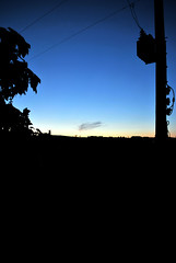 Wispy cloud on horizon 2