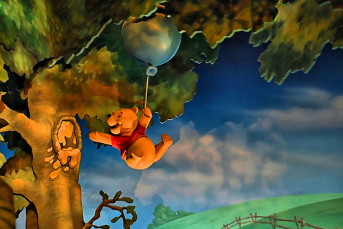 Disney - Pooh Reaching For Honey - by Joe Penniston