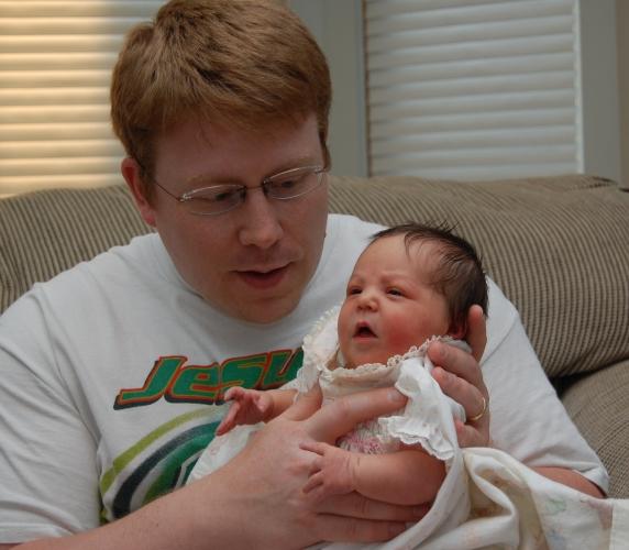 Dad and Clara
