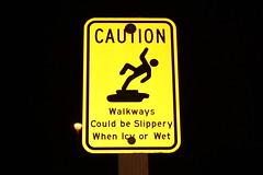 Dont slip!