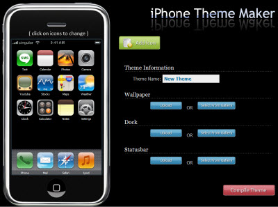 iPhone Theme Maker