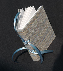 Little Blue Book - Fabric covered