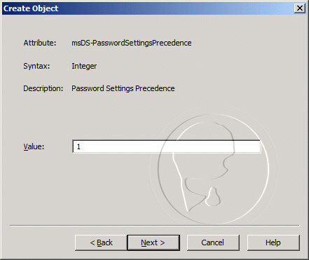 msDS-PasswordSettingsPrecedence