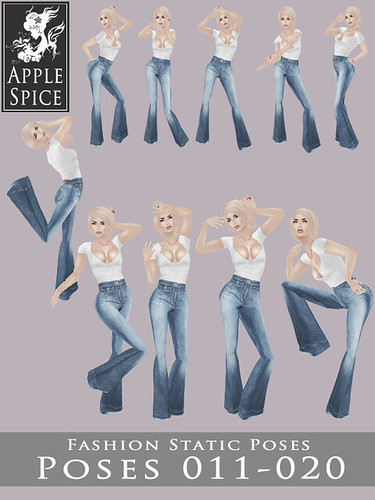 Apple Spice - Fashion Static Poses 011-020