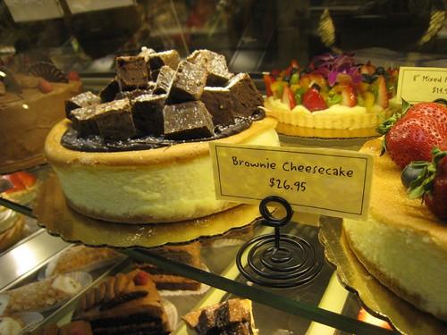 Huge Brownie Cheesecake