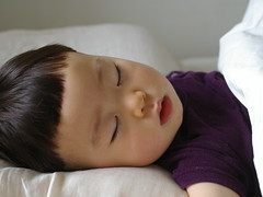 A sleeping child