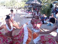 Sega Beach Dance Video