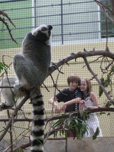 Carter, Micaela and Lemur Friend, Biodome, Montreal, Quebec