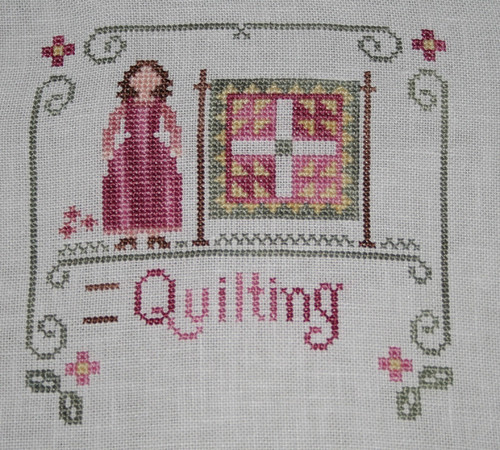 Little Women - Quilting