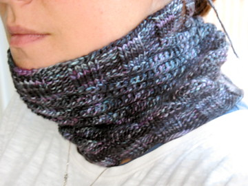 Neck warmer/cowl - its really cute with buttons on it.