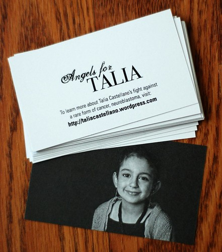 Angels for Talia cards