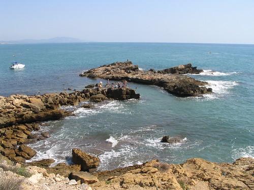Rocas en Oropesa del Mar