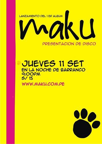 Afiche Maku
