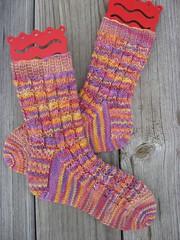 Crossover Rib Socks