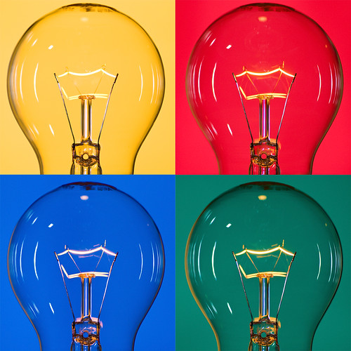 Warhol's Light Bulbs