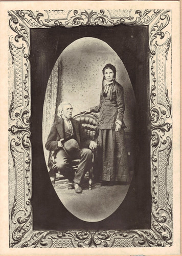 Reinders Tjaart Nanninga and his second wife Geelke Garrelts.