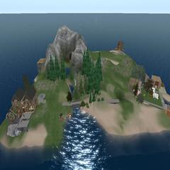 Overview of Quiet Island
