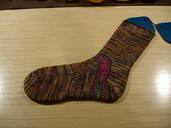 Koigu Linen Stitch Sock