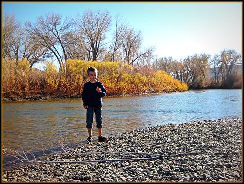 Break at the Carson River