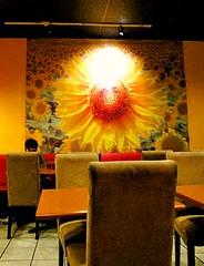 Sunflower Cafe - Poster