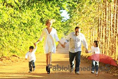 Fotografando familias em locação