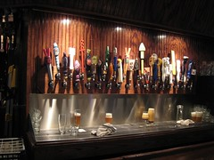 the taps at Capital Ale House