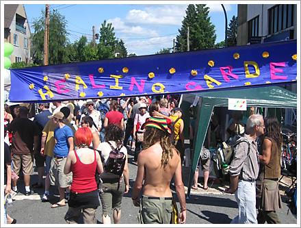 Car Free Commercial Drive 2008 Healing Garde...n