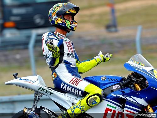 Valentino Rossi - Celebración Missano´08